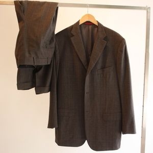 Other - Isaia napoli two piece checkered suit